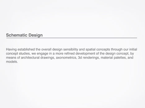 Profile - Process - Green Light Studio :: Architecture :: Interior ...